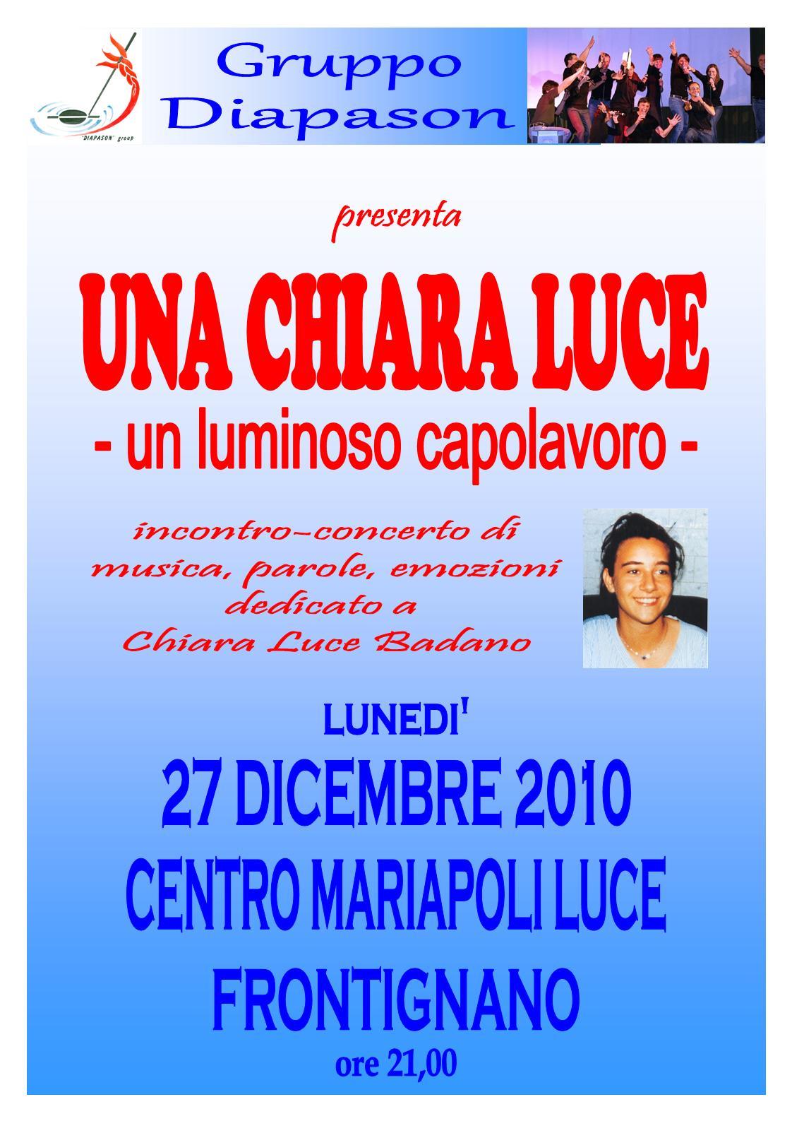 Una Chiara Luce - Frontignano