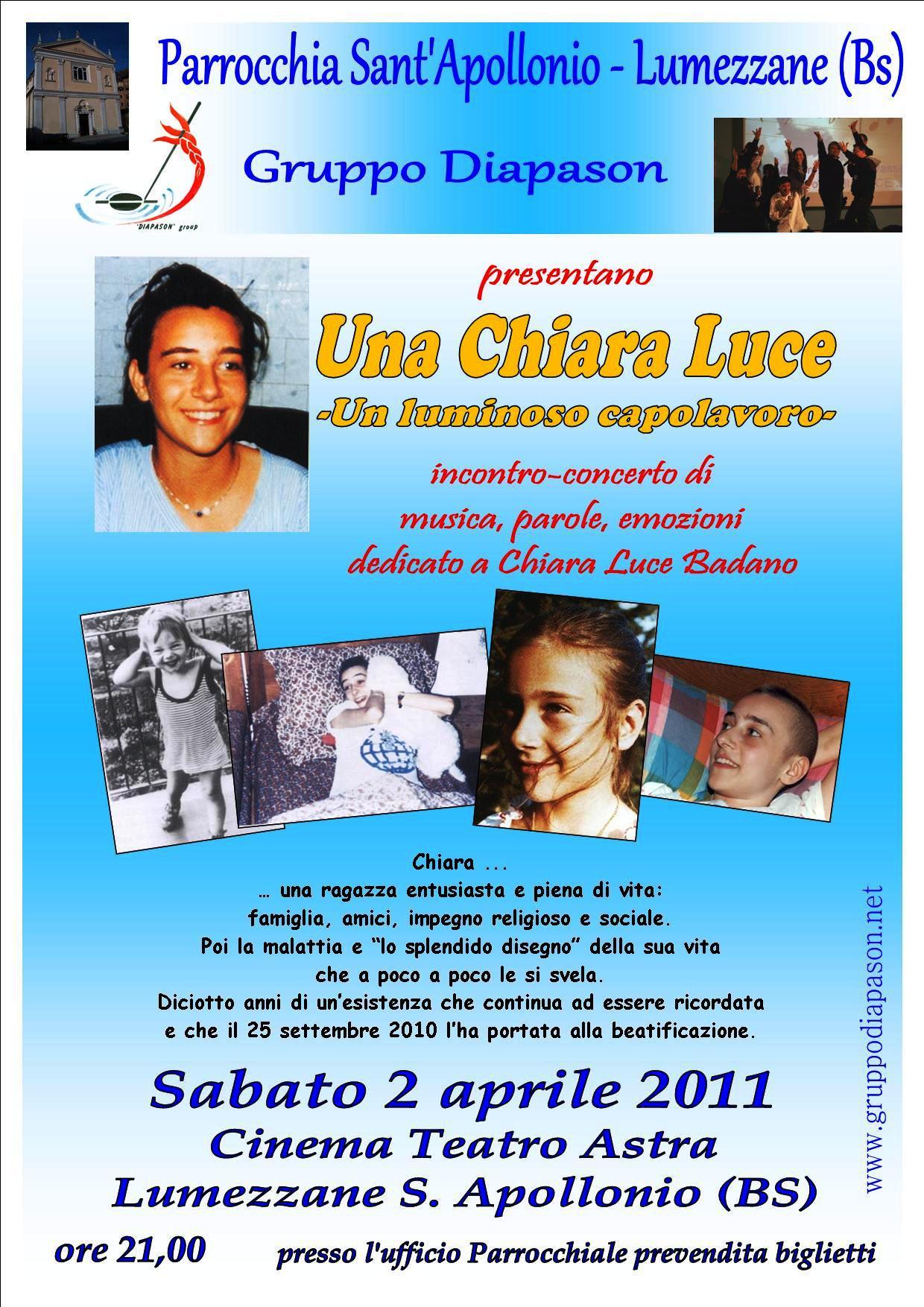 Una Chiara Luce - Lumezzane